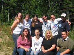 Un de nos premiers groupes