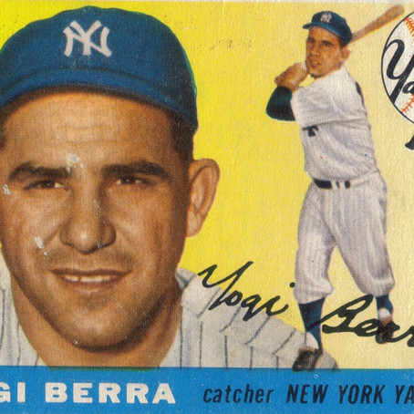 """Yogi Berra said... """"You can see a lot just by looking up."""""""