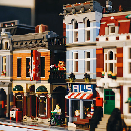 Remember LEGOS? Well they might be building (real) houses soon…