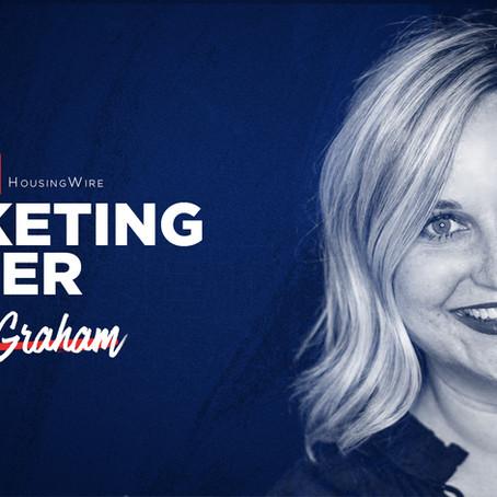 Princeton Mortgage Chief Marketing Officer, Courtney Graham, wins HousingWire Marketing Leader Award