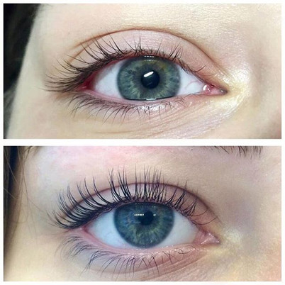 Eyelashes Lifting (Wimpern Lifting) is a