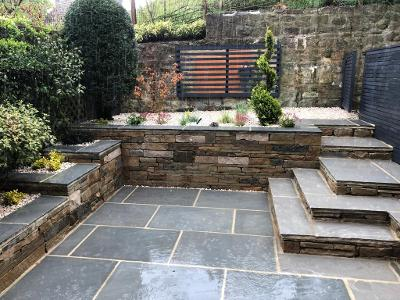 terracing and walling