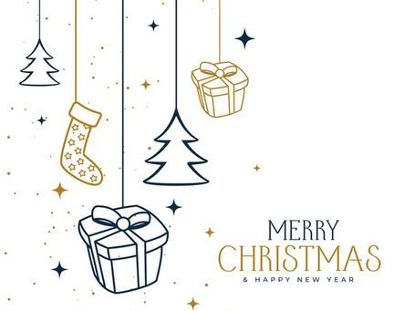 メーリークリスマス♪年末年始の変更