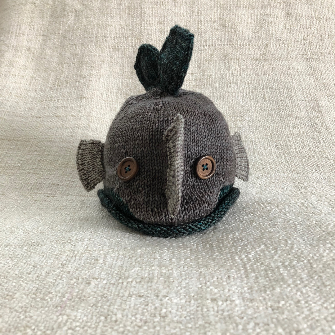 infant fish hat