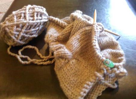 IN PROGRESS | My First Sweater