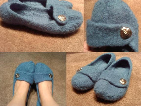 FINISHED | French Press Slippers