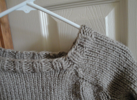 FINISHED | Oatmeal Pullover