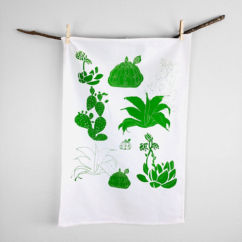 Large Cactus | Tea Towel