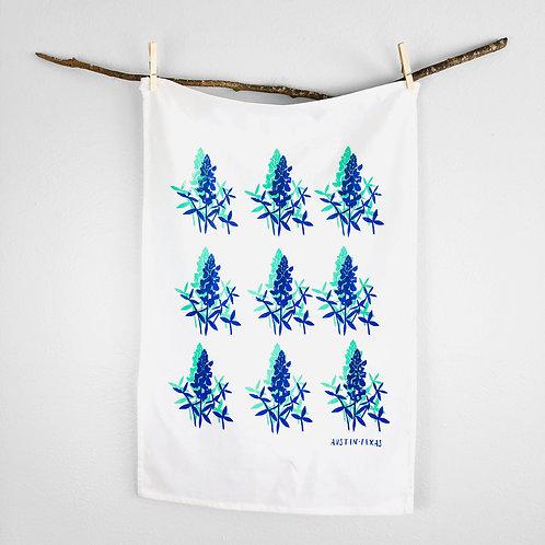 Blue Bonnets | Tea Towel