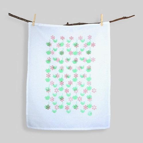 Snowflake Agave | Tea Towel