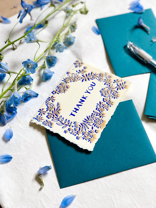 Thank You Leaves | Greeting Card