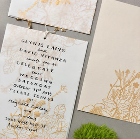 Corner Floral - Antique Cream