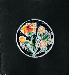 Black Floral/ $30