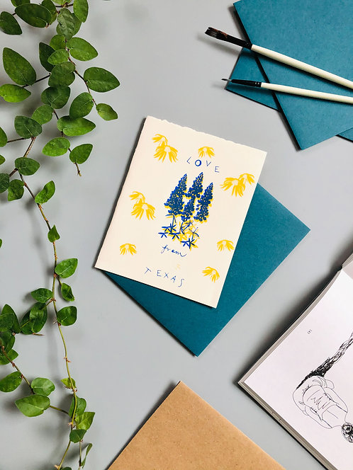 Love From Texas | Greeting Card