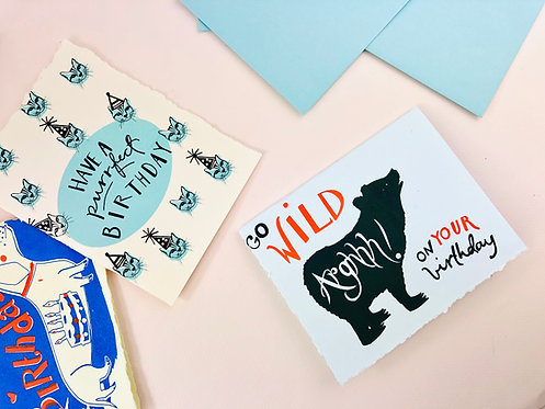 Birthday Greeting Cards - Box Set