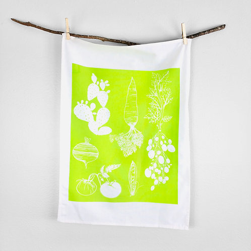 Vegetable | Tea Towel