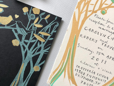 Unique one - of a - kind wedding invitations & stationery