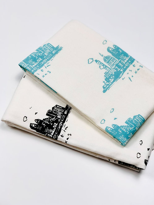 Austin Skyline | Tea Towel