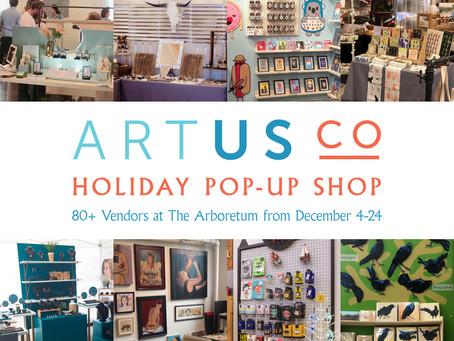 Victrola Design | Artus Co Holiday Pop Up