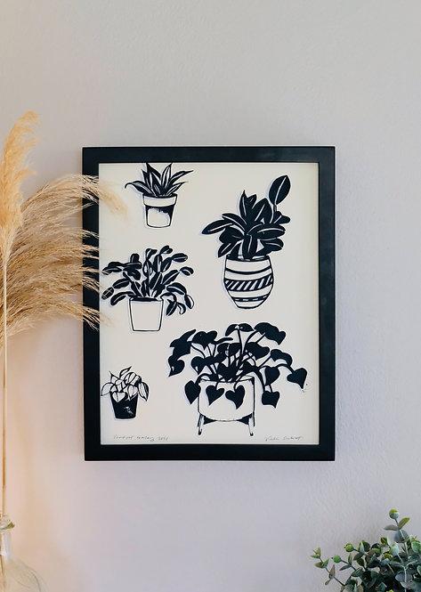 Plant Pots | Art Print