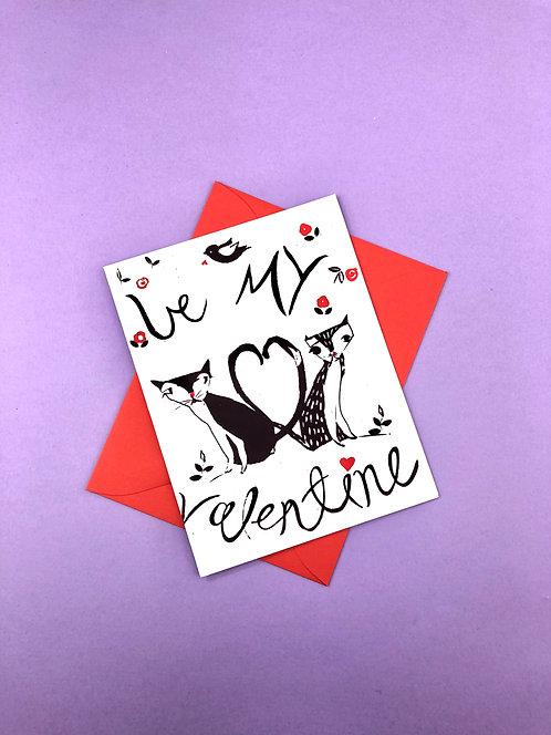 Be My Valentine | Greeting Card
