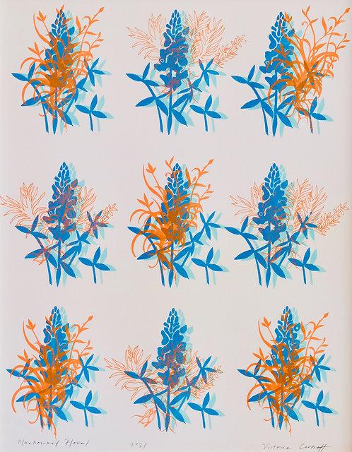 Bluebonnet Floral | Art Print