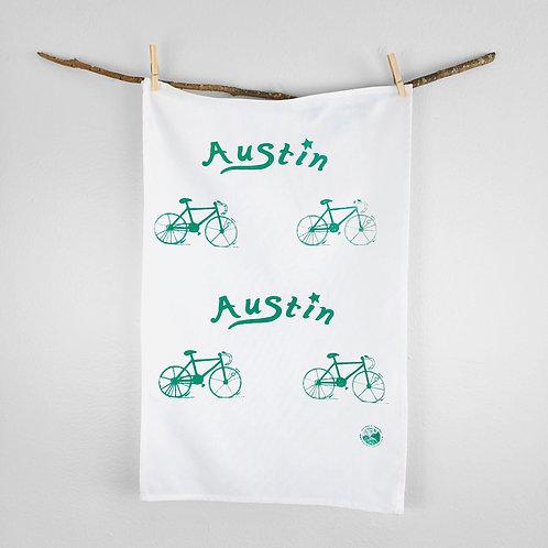 Austin Bike | Tea Towel