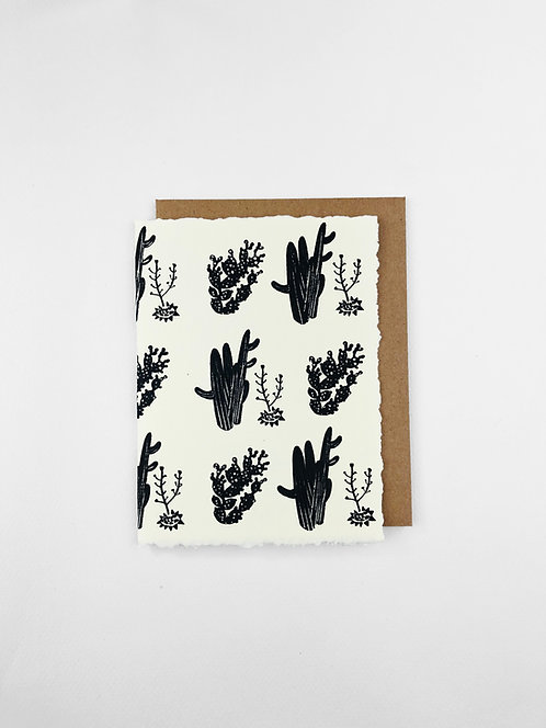 Desert Cactus | Greeting Card