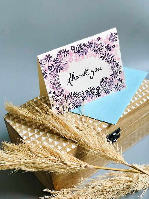 Thank You Greeting Cards - Box Set