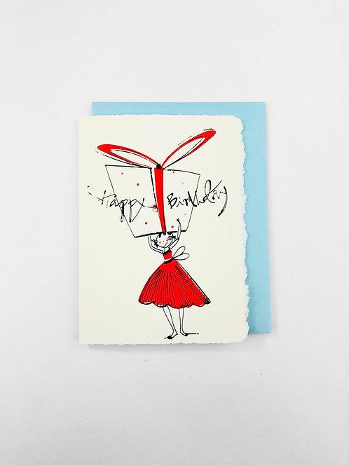 Birthday Present | Greeting Card