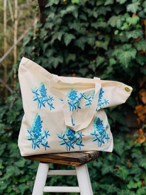 Blue Bonnets | Tote Bag