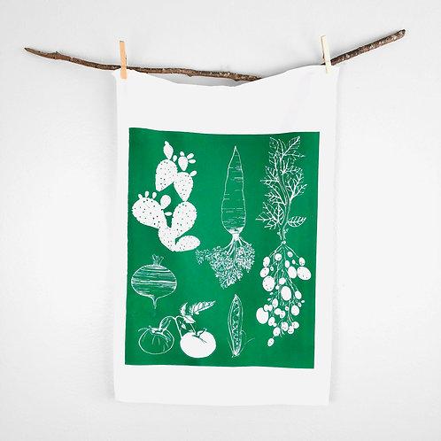 Vegetable | Tea Towel