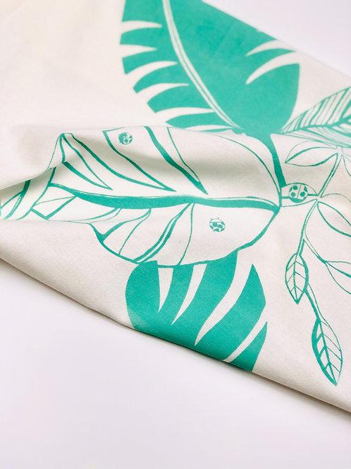 Tropical Leaves | Tea Towel