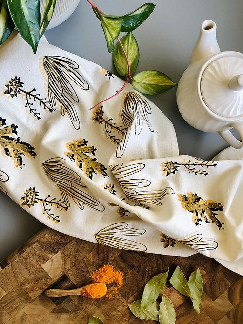 Double Century Cactus | Tea Towel