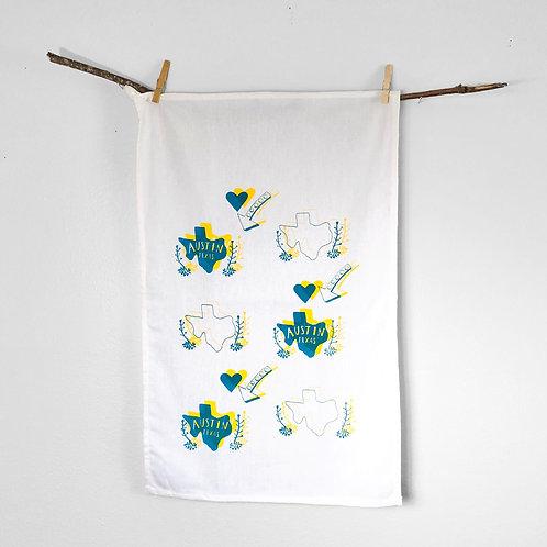 I Heart Austin | Tea Towel