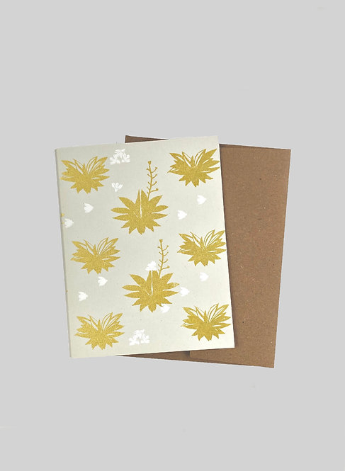 AGAVE BEES - GREETING CARD