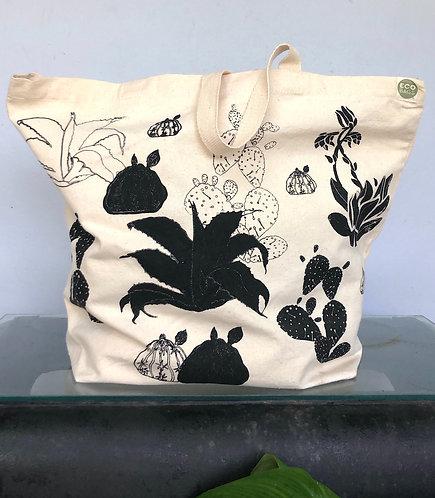Large Cactus - Tote Bag