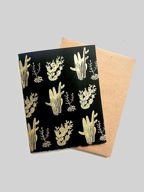 DESERT CACTUS - GREETING CARD