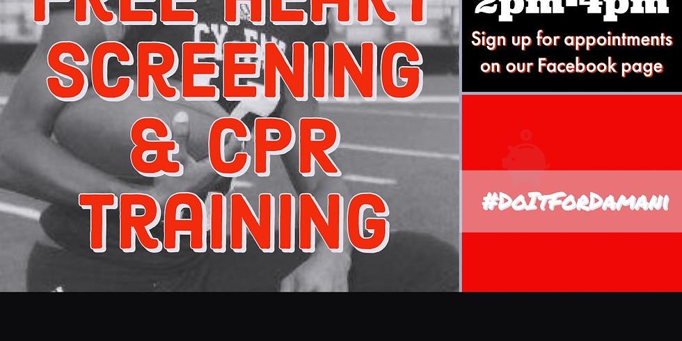 Free Heart Screening & CPR Training