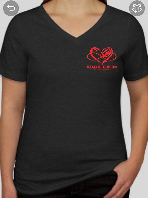 Logo Shirt Ladies V neck
