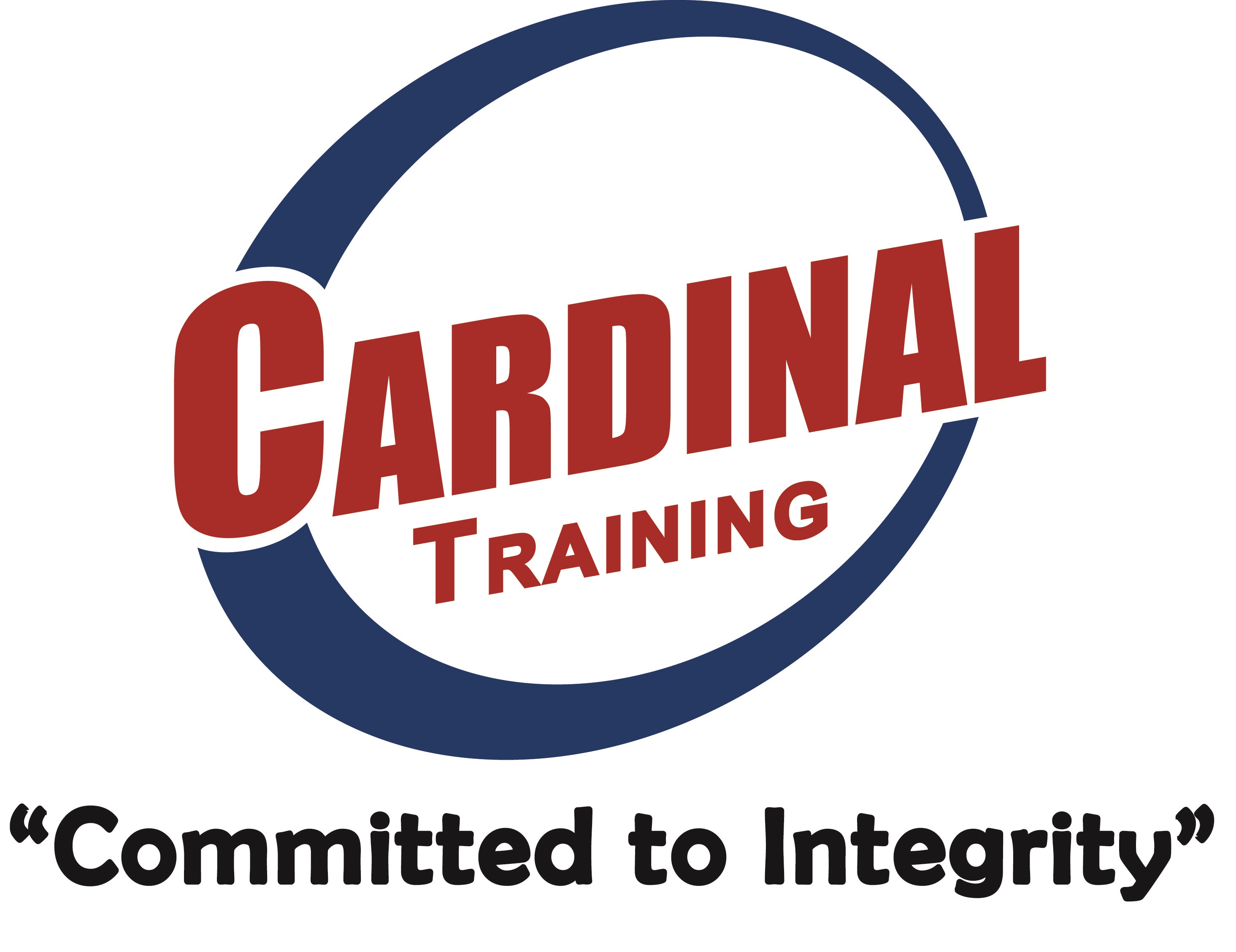 Cardinal Training Group, LLC Logo - Light Red - stretched - Paint