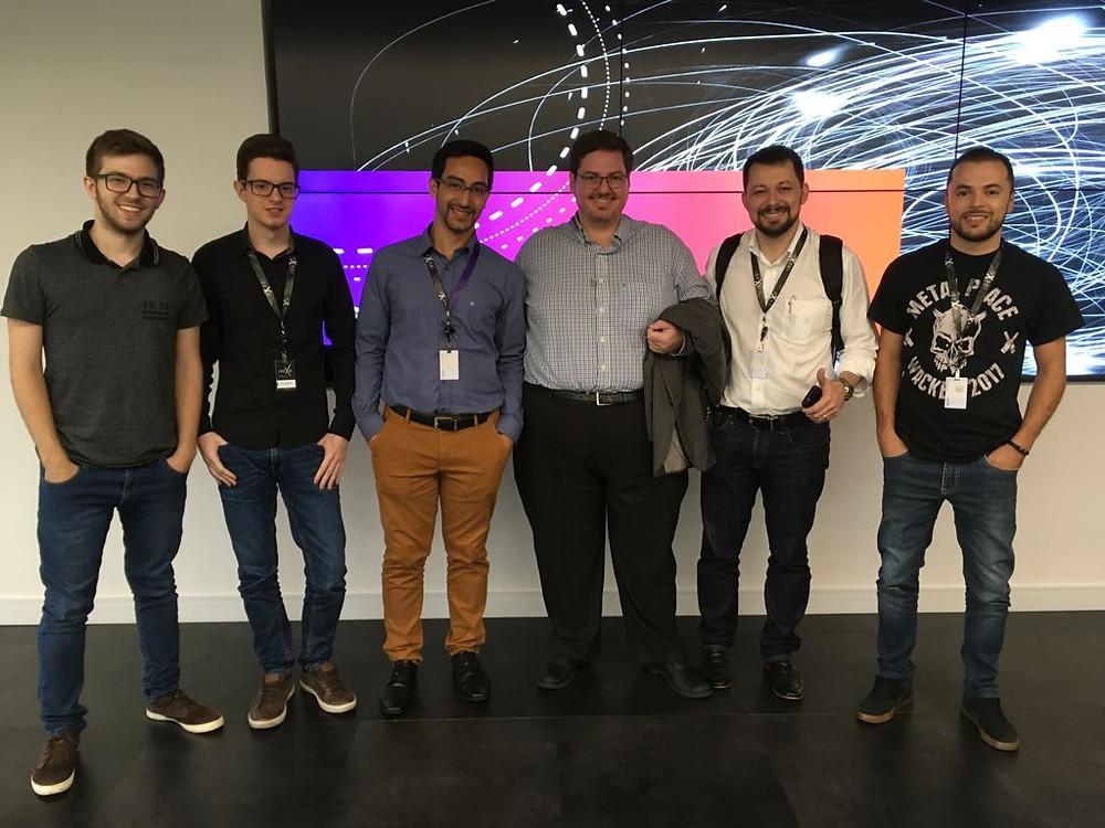 Marco Poli e equipe da Digte no Idexo