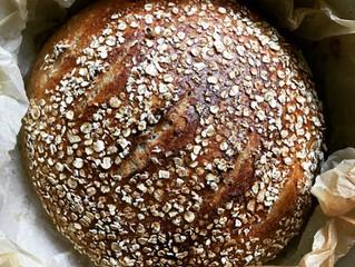 Porridge bread recipe from Tivoli Road Bakery