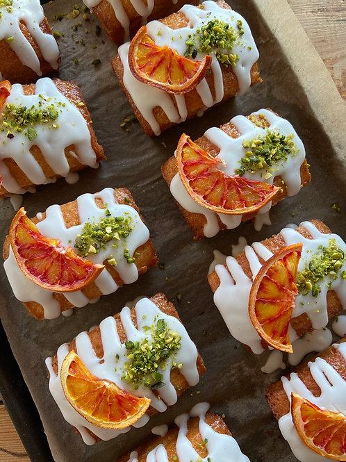 Vegan orange cardamom and pistachio