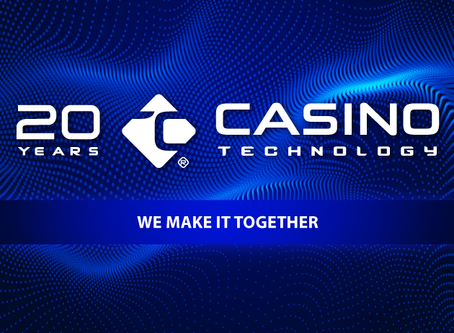 Casino Technology Celebrates 20 Years