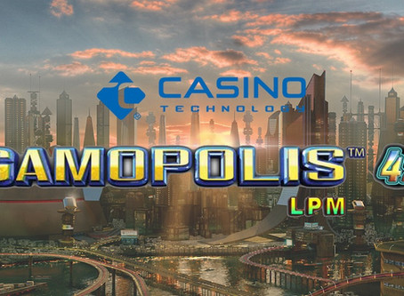 Casino Technology's Gamopolis 42 LPM Game Entertains with Even More Variety