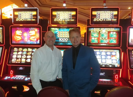 EZ Modulo from Casino Technology, a first for South Africa at Emperors Palace Casino