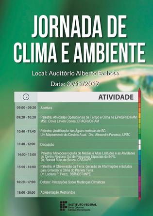 JORNADA DE CLIMA E AMBIENTE