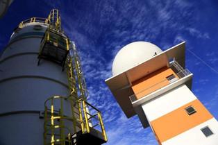 Radar Meteorológico do Oeste entrou em funcionamento na sexta-feira (25/08/2017)