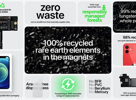 How is the New iPhone 12 Saving the Planet? Recycling is the Key